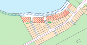 Zoning map from the Taupo District Council District Plan