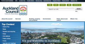 Extract from the Auckland Council Website
