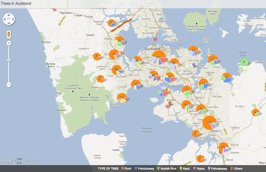 Interactive Map - Tree Protection in Auckland